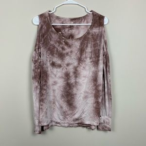 American Eagle   Soft & Sexy Pink Marbled Cold XS